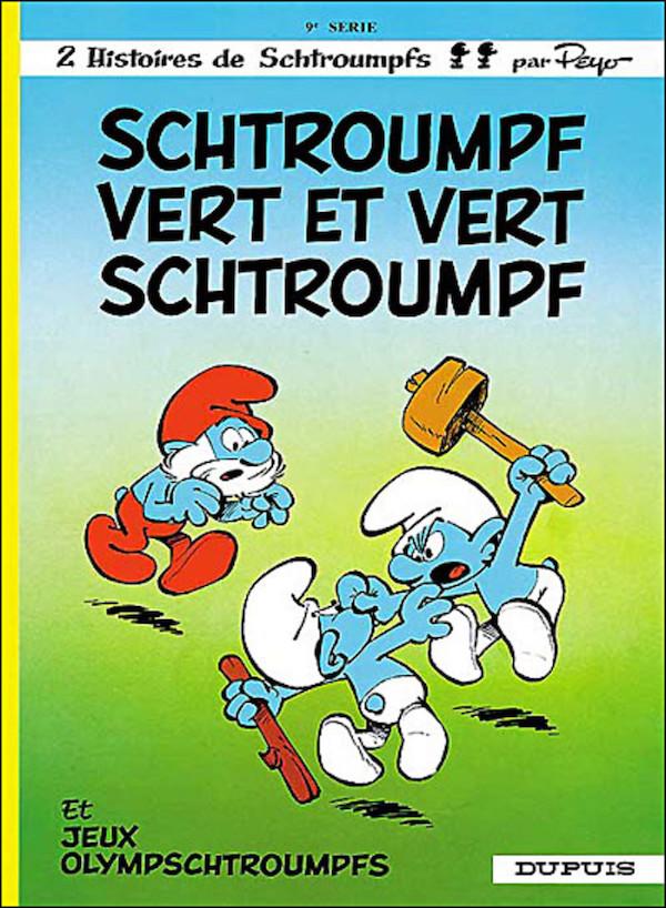 schtroumpf_vert_et_vert_schtroumpf_les_schtroumpfs_tome_9